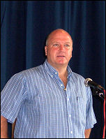 Bob Crow, RMT general secretary, speaking at the Campaign for a New Workers