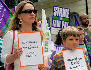 Female unemployment has been rising fast and a lack of affordable childcare rules out many low paid jobs. Photo Paul Mattsson