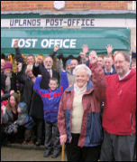 Successsful campaign stops closure of post office in Stroud, photo by Chris Moore