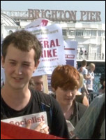 The NSSN called on the TUC Congress to use the TUC demo on 20 October 2012 as a springboard for a 24-hour general strike, photo  Socialist Party