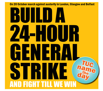Build a 24-hour general strike - TUC name the day, photo  Socialist Party
