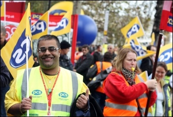 PCS members have shown they are up for the fight, photo Senan
