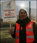 Protesting at Capenhurst, 20.2.13, photo Ray McHale