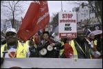 Demo to save Whittington hospital, 16.3.13 , photo Paul Mattsson