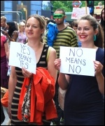 London slutwalk June 2011 , photo Sarah Wrack