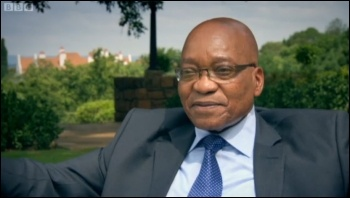 South Africa: The Massacre that Changed a Nation - BBC2 Wednesday, 24th April, photo BBC screen shot