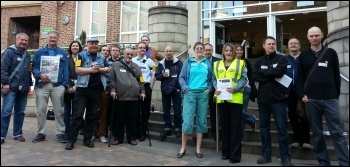 Sheffield DWP contact centre strike action on Tuesday 7 May