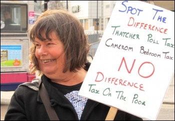 Sue Atkins, Southampton TUSC candidate, photo Southampton Socialist Party