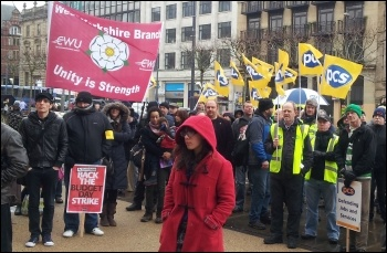 PCS national strike on Budget Day, 20 March 2013, Yorkshire