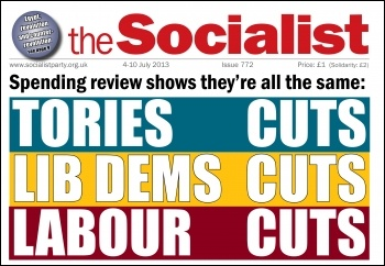Tory cuts - Lib dems cuts - Labour cuts - spending review shows they're all the same
