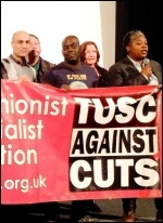Hackney TUSC, photo Hackney TUSC