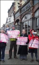 TUSC campaigners in east London demand rent controls