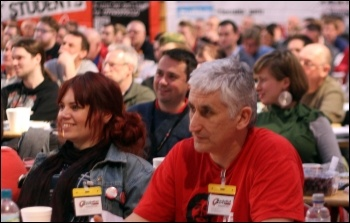 Delegates at the Socialist Party 2014 national congress