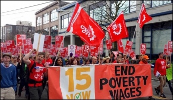 Socialists have led a successful struggle to increase the minimum wage in Seattle, photo 15 Now