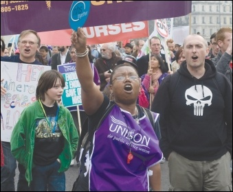 Strike back for a living wage!
