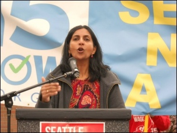 Kshama Sawant will be speaking at the Socialism 2014 rally