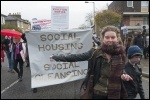 Social housing not social cleansing! photo Paul Mattsson