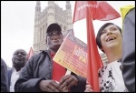 London bus drivers demonstrating for sector wide pay rates, 11.09.14, photo Paul Mattsson