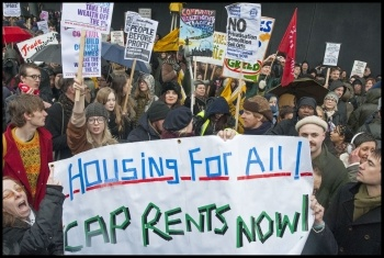 March for Homes, 31st January 2015, London, photo Paul Mattsson