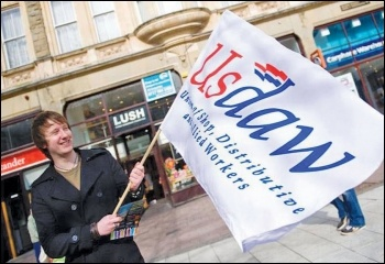 First time candidate Scott Jones was within 113 seats of winning a seat on the Usdaw exec