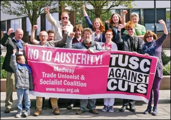 Medway TUSC supporters