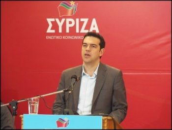 Alexis Tsipras, leader of Syriza. Photo Joanna Piazza del Popolo (Creative Commons)