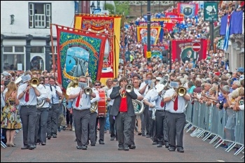 Durham Miners' Gala 2015, photo by Paul Mattsson