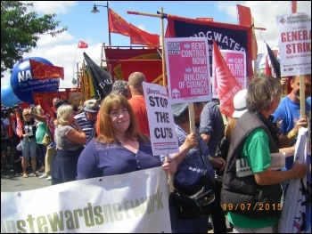 Tolpuddle march, July 2015