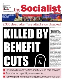 The Socialist issue 868