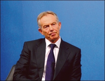 Tony Blair, Tory infiltrator into Labour, photo Chatham House (Creative Commons)