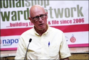 Roger Bannister, at NSSN conference 2015, photo by Senan