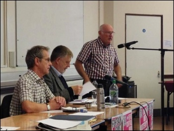 TUSC conference, 26.9.15, Peter Taaffe speaking