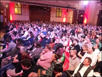 Socialism 2015 Saturday rally, photo by Senan