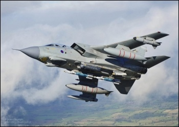 RAF Tornado bomber, photo by Ministry of Defence (Creative Commons)