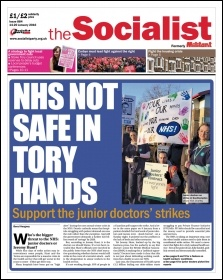 The Socialist issue 884