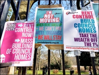 Axe the Housing Act! Photo James Ivens