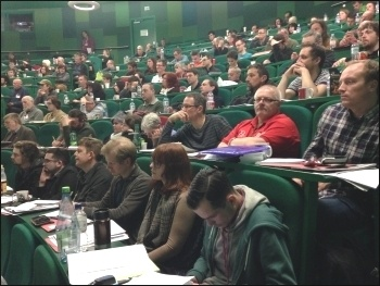 Socialist Party congress 2016, photo by Sarah Wrack