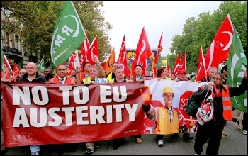 No to EU austerity