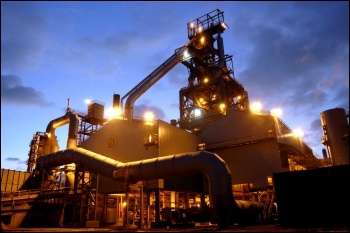Port Talbot steelworks, photo Grubb (Creative Commons)