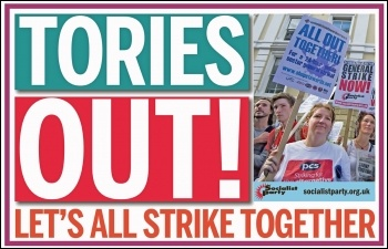 Tories out! Meme by Sarah Wrack