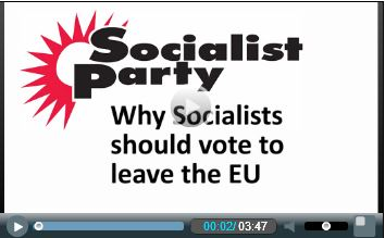 Socialist Party's Judy Beishon makes the Socialist case for EU exit