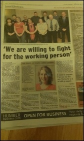 TUSC in the local paper
