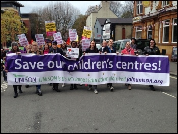 Chesterfield May Day demo