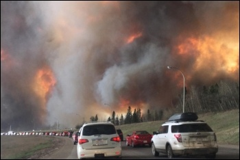 Fort McMurray forest fire photo Darren R D/Creative Commons