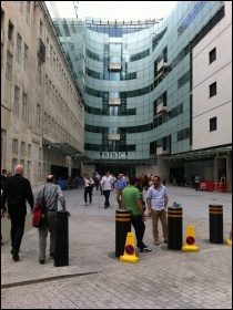 BBC Broadcasting House in central London, photo Deskana (Creative Commons)