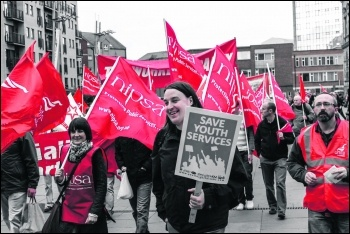 Nipsa members demonstrating, photo by Tyler McNally