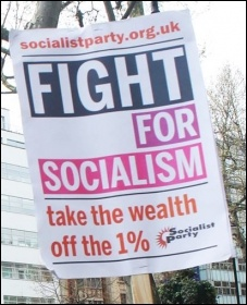 Fight for Socialism placard