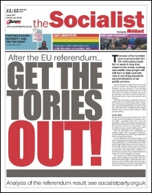 The Socialist issue 907