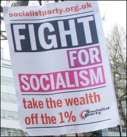 Socialist Party placard