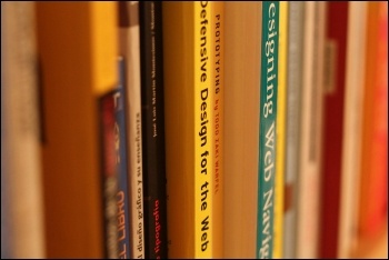 Books, photo by Rodrigo Galindez (Creative Commons)